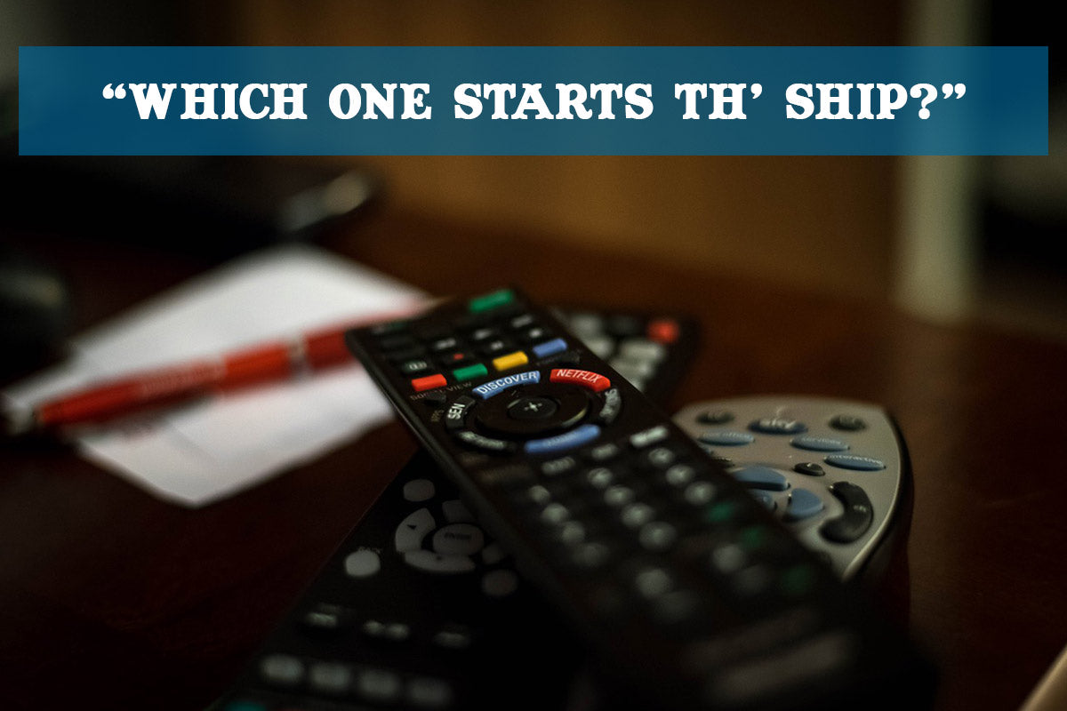 Talk Like a Pirate Day 2016 - too many remotes
