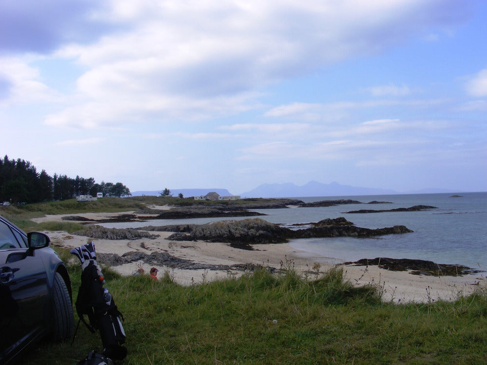 Island Views - The road from the Isles of Scotland