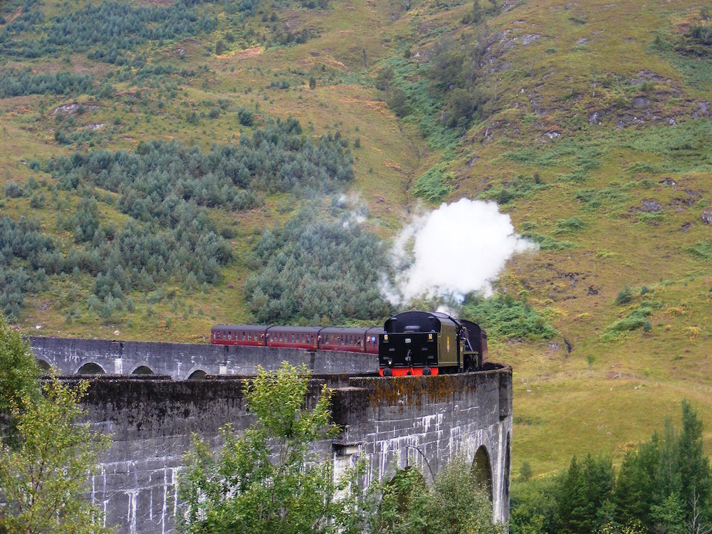 Glenfinnan Viaduct - The road from the Isles of Scotland