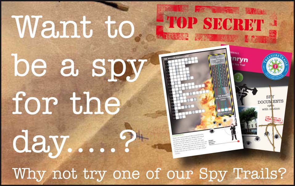 Itinerary for a Spy Mission Holiday - When Time and Distance don't Count - want to be a spy for the day?