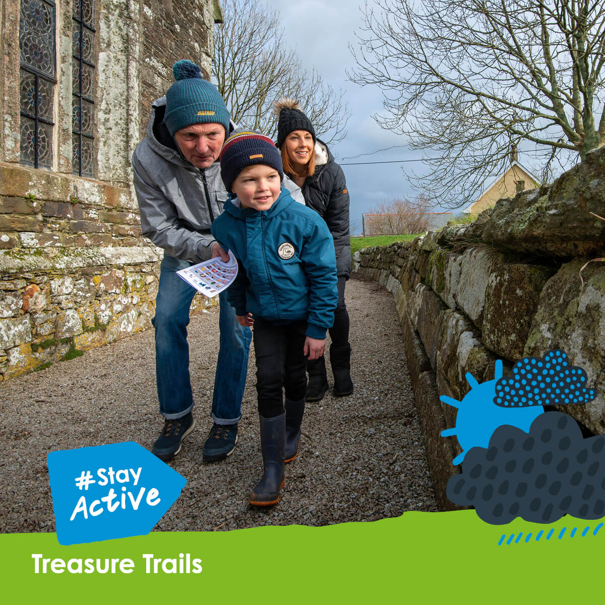 Stay Active with Treasure Trails