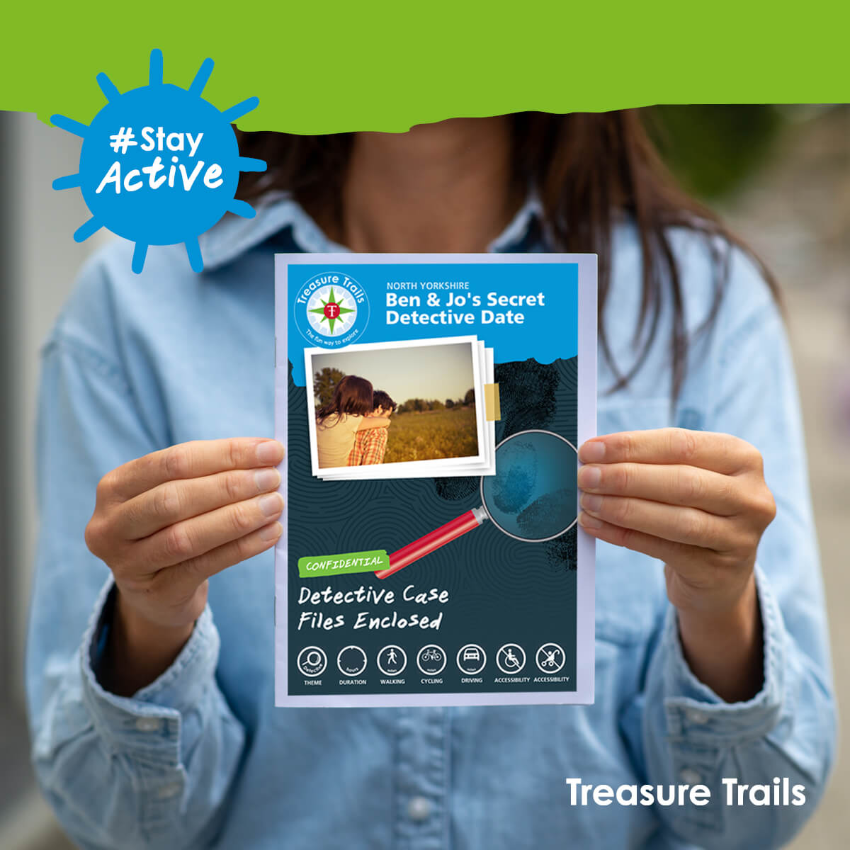 Try a personalised Valentine's Day Treasure Trail for that extra special Detective Date