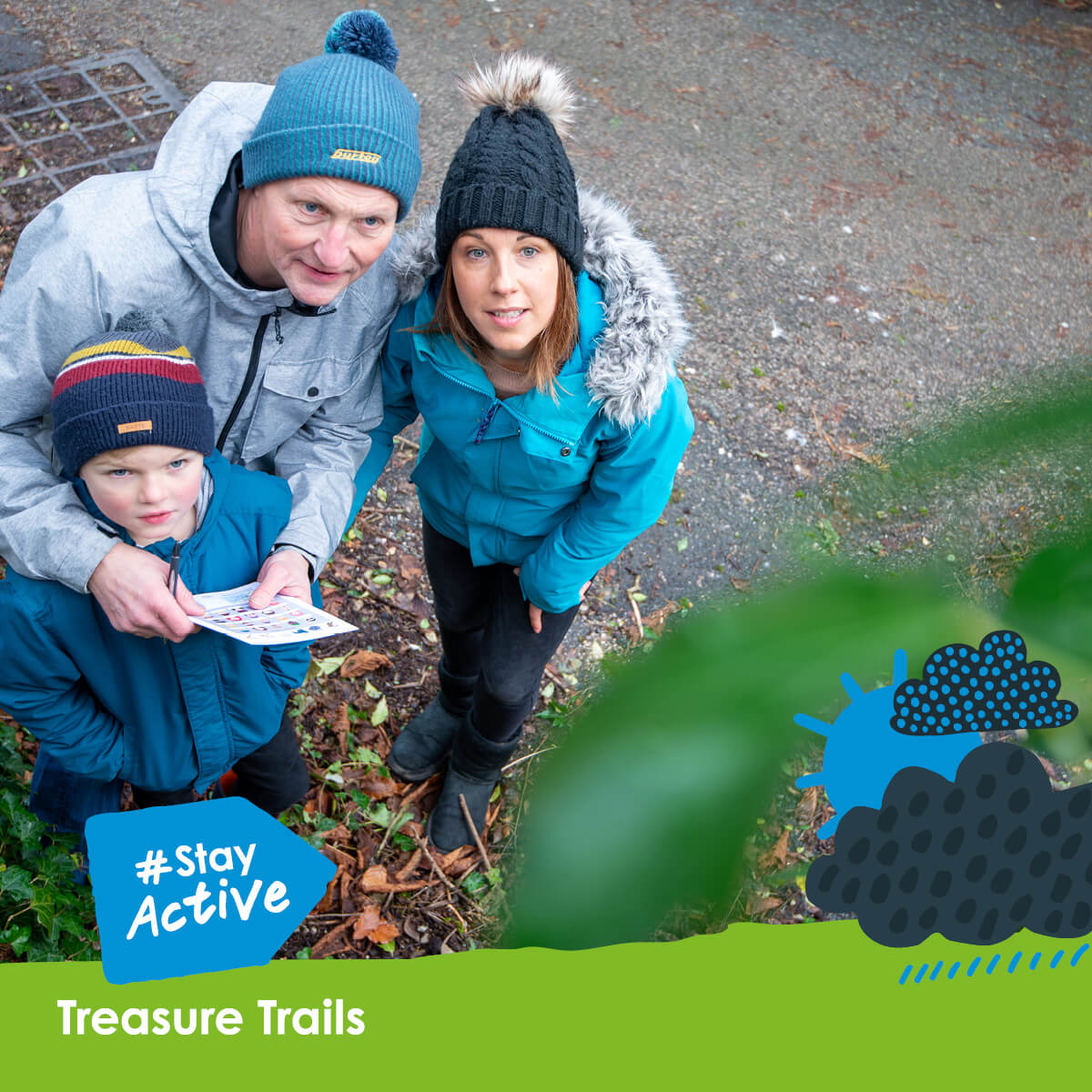Stay active this half term with Treasure Trails
