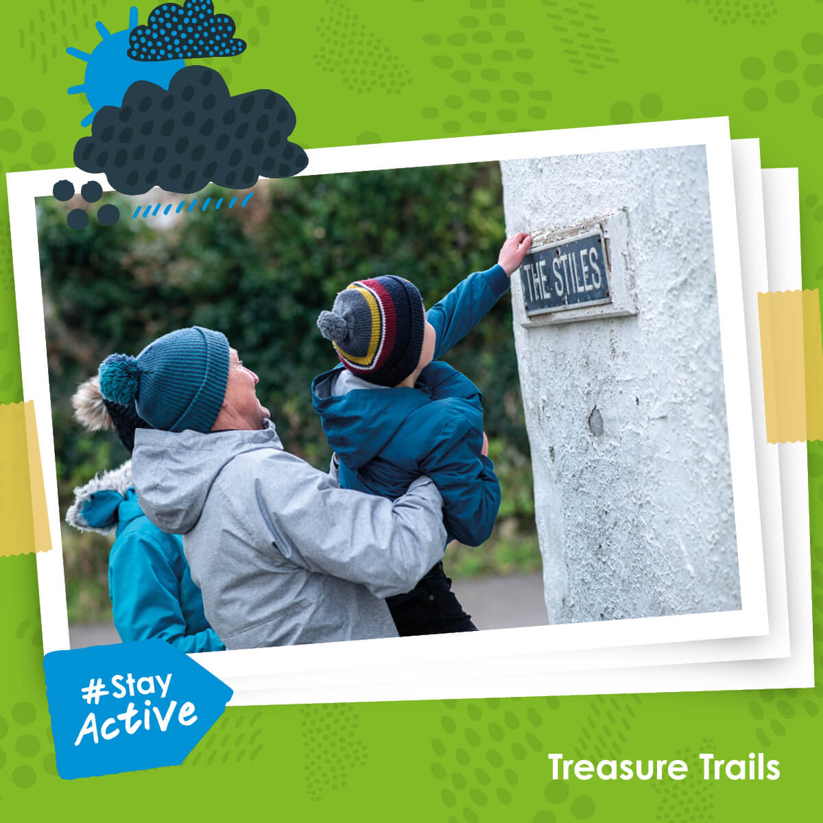 Stay active - Explore with your senses on a Treasure Trail