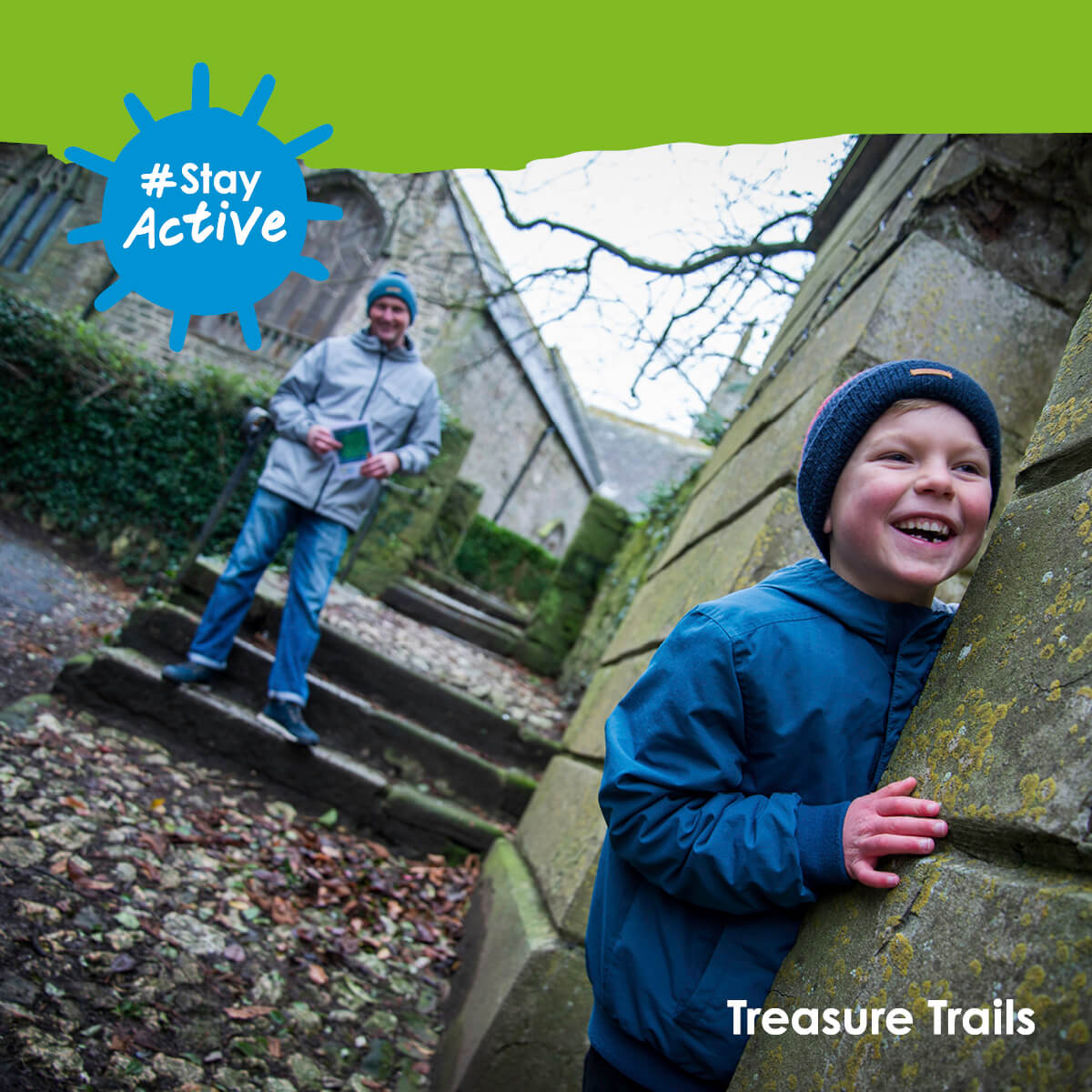 Stay active with Treasure Trails 2021