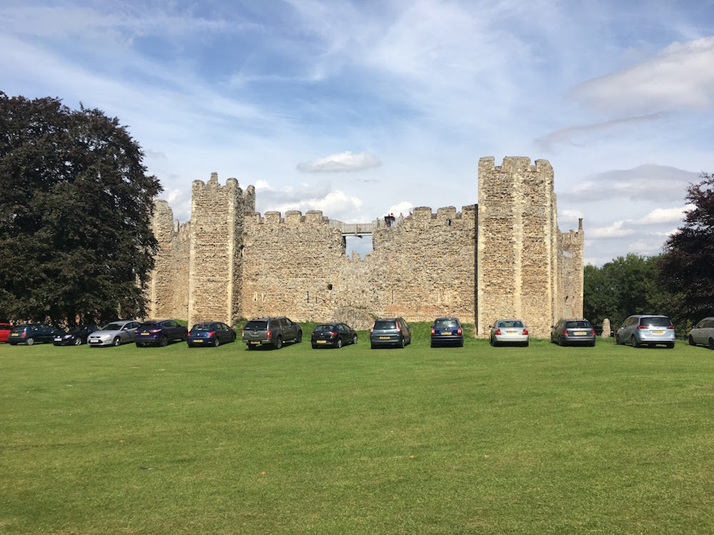 Things to do on the Suffolk Coast - Framlingham Castle  - English Heritage