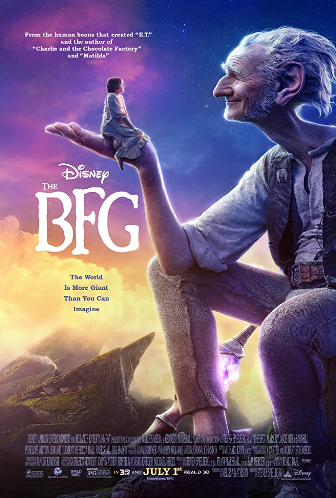 Our TOP Five… The BFG (2016)
