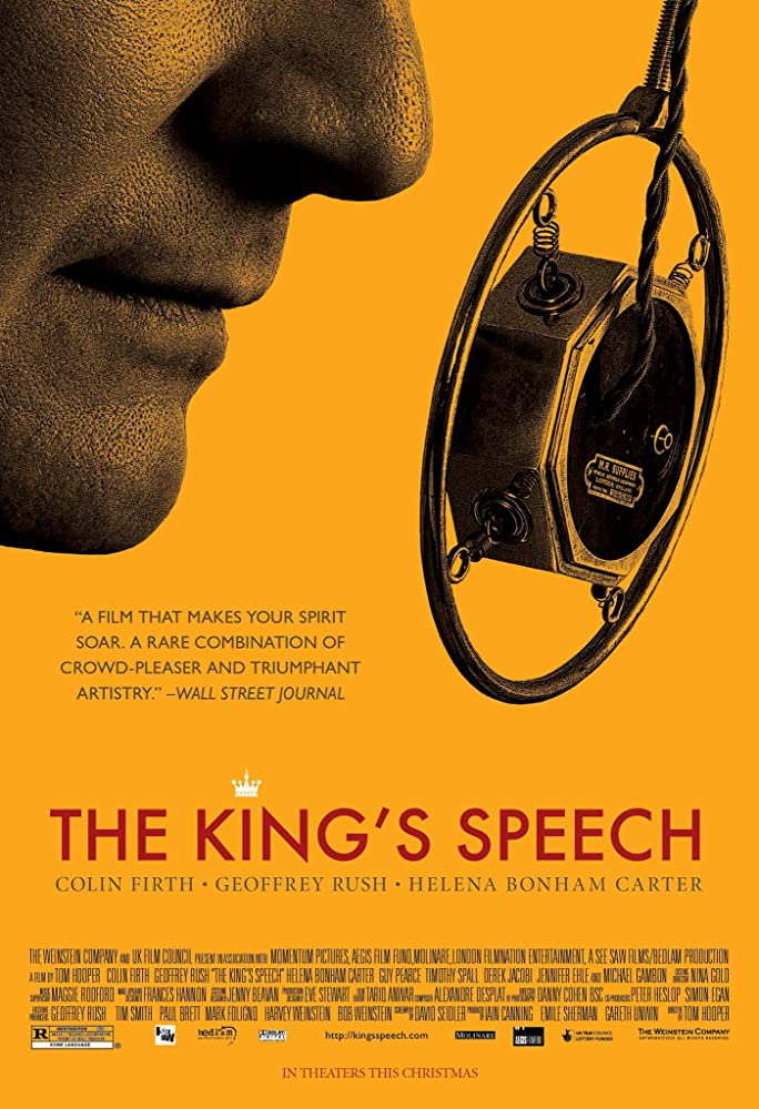 Our TOP Five… The Kings Speech (2010)