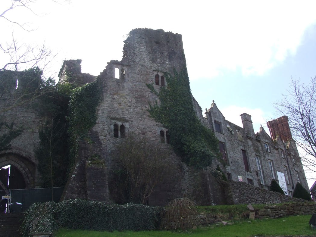 Hay Castle, featured on the Hay-on-Wye Famous for Books Trail