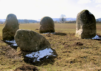 Things to do in Mid Wales - The Four Stones
