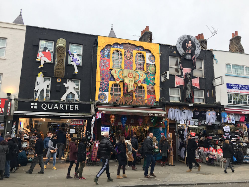 Things to do with a 10 Year Old in Camden Market - street art