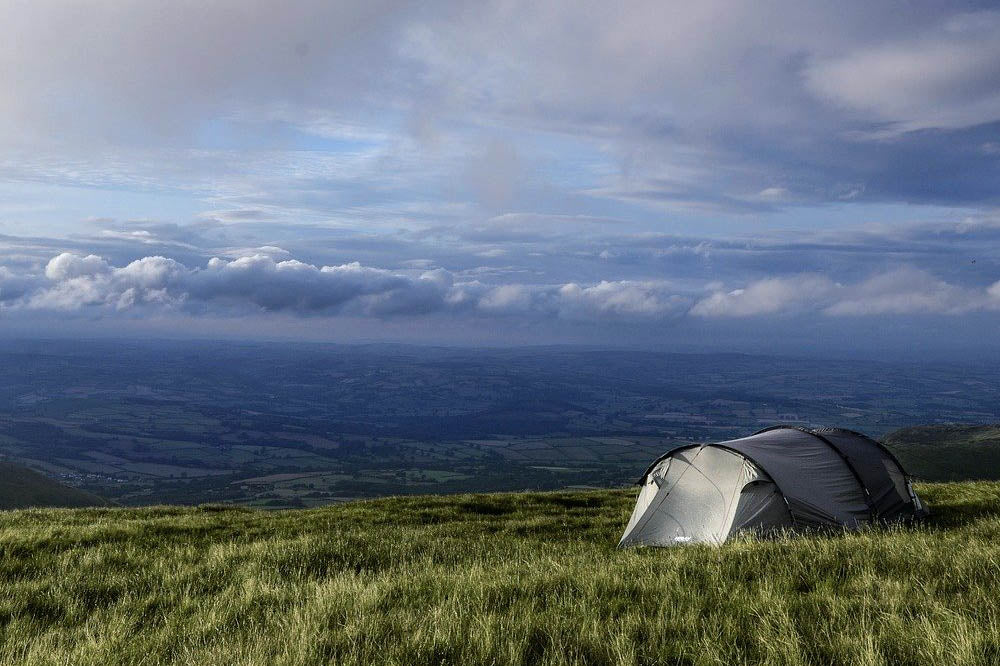 TT Strange Times - A Staycation Summer - Camping can be a fun, free activity if you find the right spot!