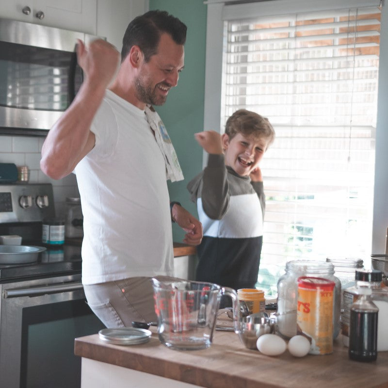 Dancing in the kitchen   Stay Active with Treasure Trails