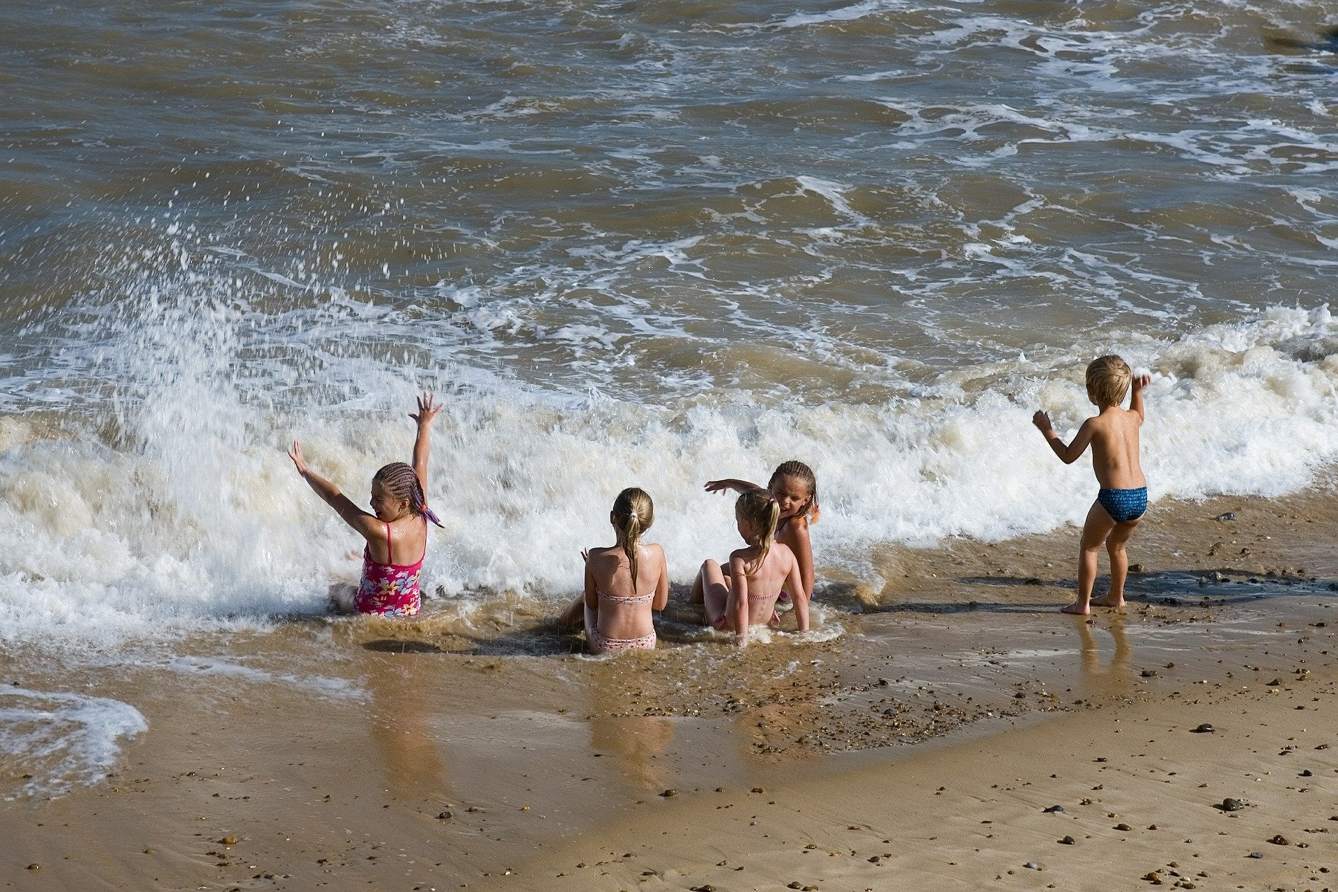 TT Strange Times - A Staycation Summer - the couple were particularly keen for children to experience the seaside, as they had done themselves many years previously.