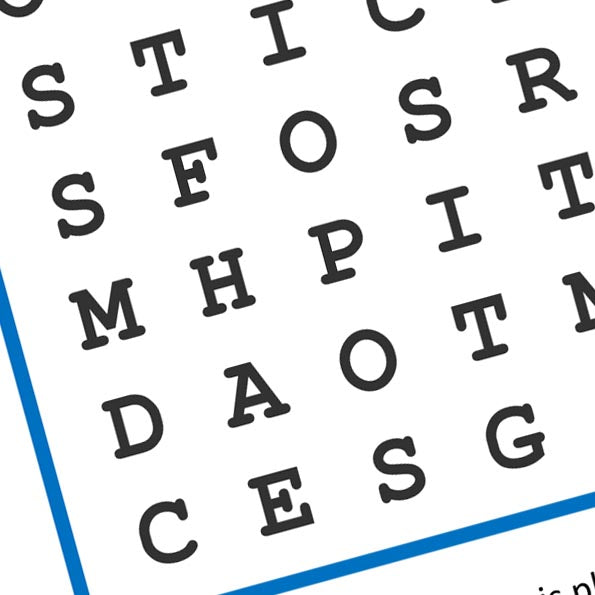 Puzzle Time... The Treasure Trails Great British Summer Wordsearch