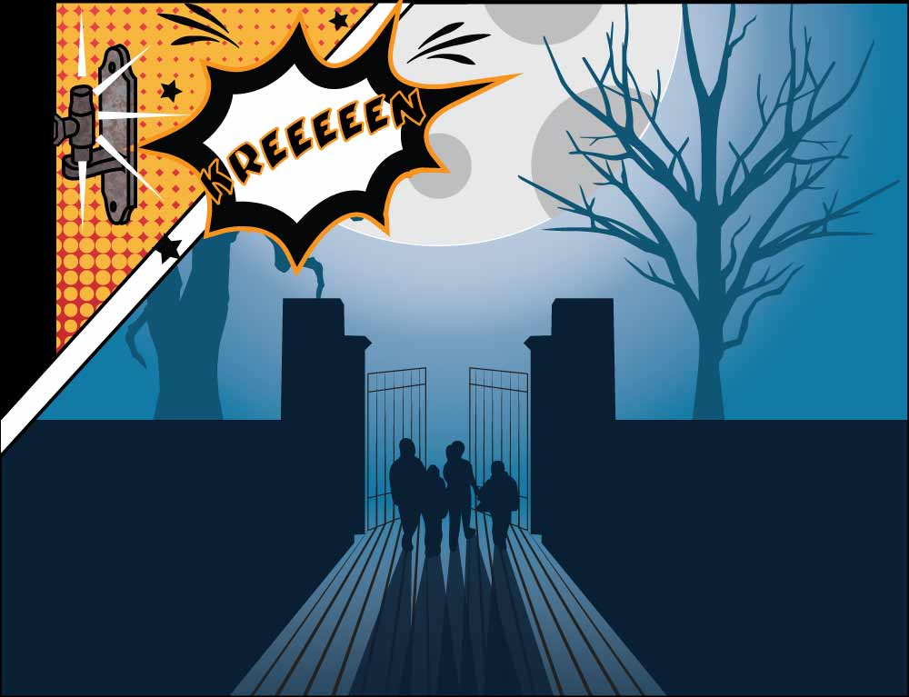 The Treasure Trails Mystery Halloween Puzzle - Dare you solve the halloween puzzle?