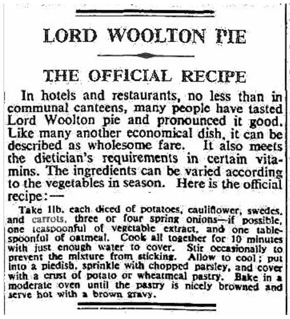 Getting YUMMY With It... Eating in World War 2 - Woolton Pie Recipe