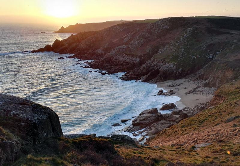 Try the Porthcurno Trail for a Valentine's Day Detective Date