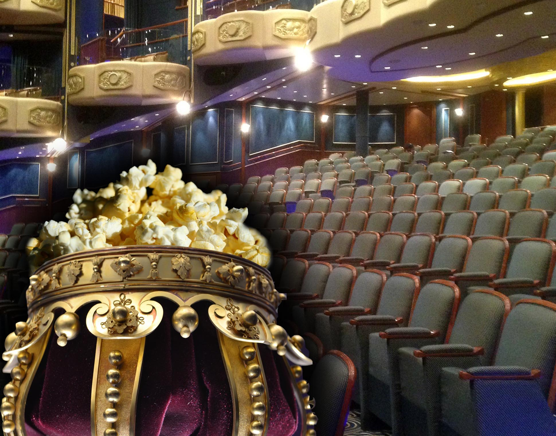 Our TOP Five... Films linked to Royalty - nice popcorn holder!