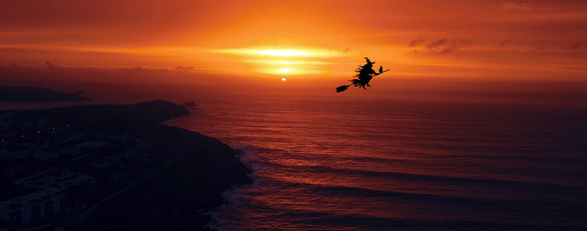 Quirky Treasure Trails - When the sun sets over Newquay, it can become quite spooky...