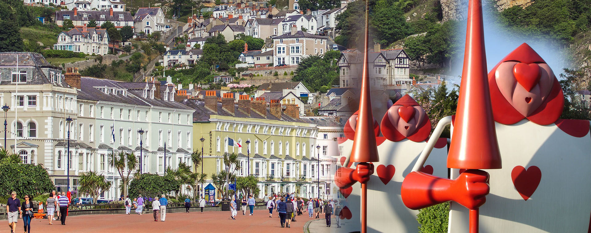 Quirky Treasure Trails - Don't be late to investigate - explore Llandudno to seek the inspiration for Alice in Wonderland...