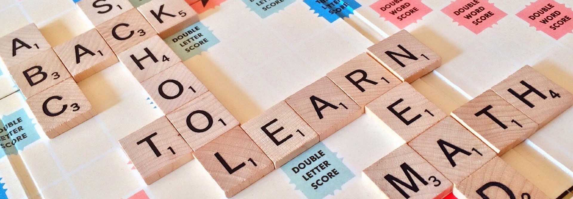 INDOOR ARENA: Board Games - Scrabble - is it time to go back to school yet?