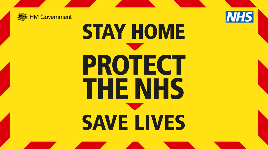 Stay Home > Protect The NHS > Save Lives