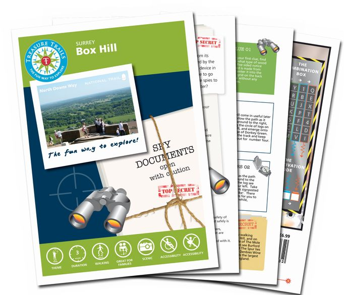 The Box Hill Trail   March Trail Mail Challenge