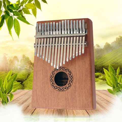 Kalimba 17 Key Thumb Piano Toy Mahogany High-Quality Wood