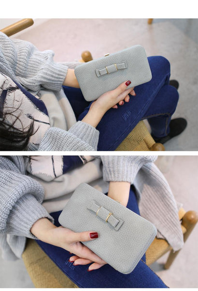 Casual Long Women TOP Quality Wallets Multifunctional Phone Holder - AVstuff