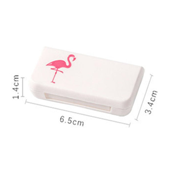 Portable Cute Pill Box Travel Pill Case Medicine Box