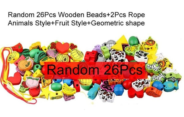 26Pcs Wooden Stringing Blocks