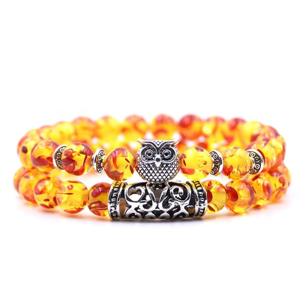 2 Pcs/set Tiger Eye Stone Bracelets - AVstuff