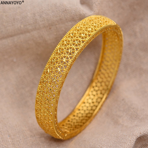 24k Dubai Gold Bangles Charm THE BEST QUALITY - AVstuff