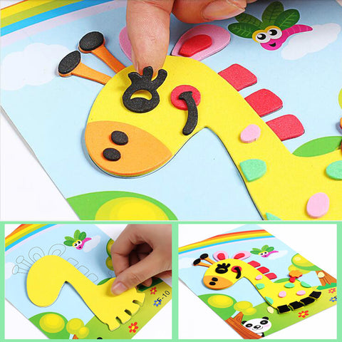 3D EVA Foam Sticker Puzzle Game