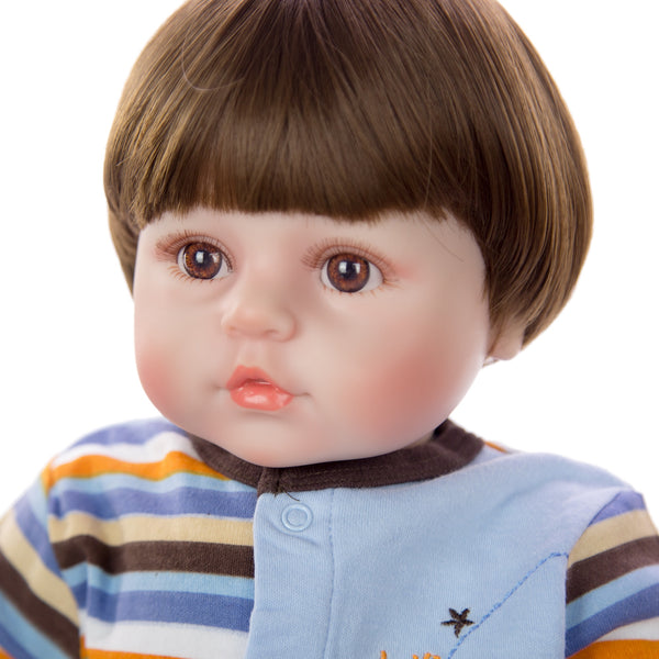 24 Inch Handmade Soft Silicone Toddler Baby Doll - AVstuff