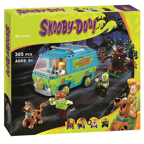 Scooby Doo The Mystery Machine Building Block Toys - AVstuff