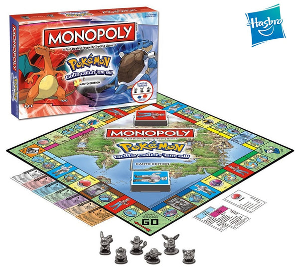 MONOPOLY POKEMON New Board Game - AVstuff