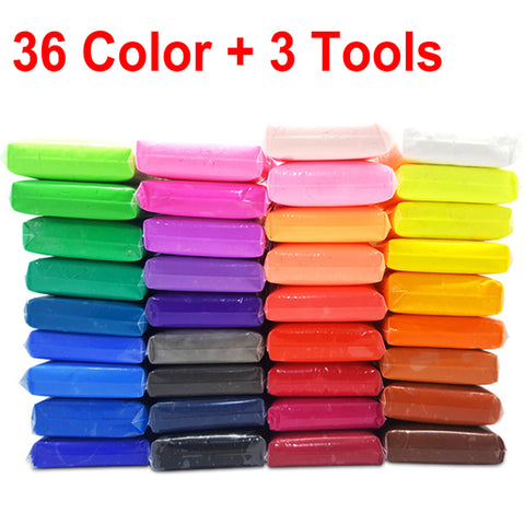 36 Color Light Soft Clay DIY - AVstuff