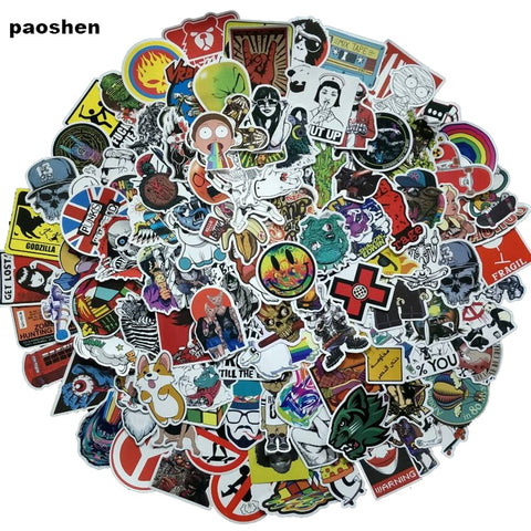 100Pcs NO Repeat Mixture Stickers