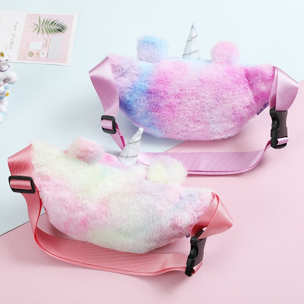 Plush Unicorn Waist Bag - AVstuff