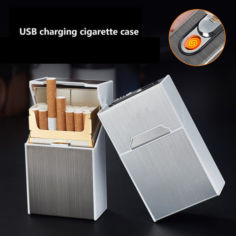 2-in-1 Cigarette Case and Lighter