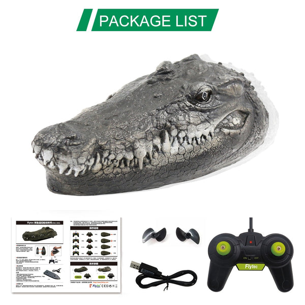 Remote Control Simulation Crocodile Head Prank - AVstuff