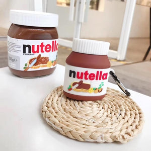 AirPods pro Case Bluetooth Earphone Case for Apple Airpods Nutella - AVstuff