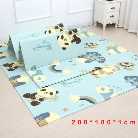 200*180cm  Foldable 2 Side Cartoon Baby Play Mat Climbing Rug - AVstuff