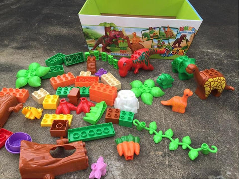 40Pcs/Lot Dino Valley Building Blocks Sets - AVstuff