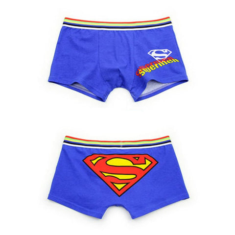 Cartoon Boxers Underpants Underwear Men Boxer Cotton