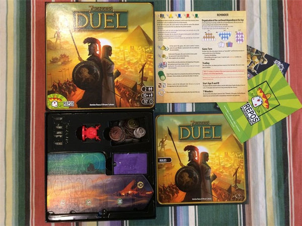 NEW Good Quality 10Age+ 3-7 Players NEW 7 Wonders Board Game Strategy 7Wonders Duel Toy - AVstuff