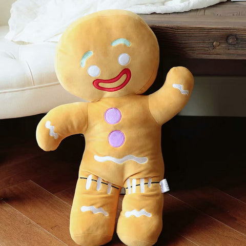 30-60cm Cute Gingerbread Man Plush - AVstuff