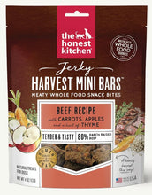 Load image into Gallery viewer, The Honest Kitchen Jerky Harvest Mini Bars 113g